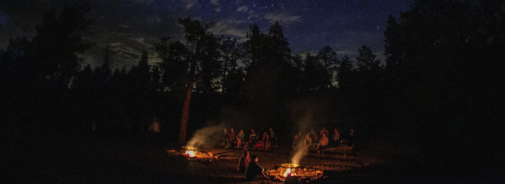Camp Shady Brook Campfire