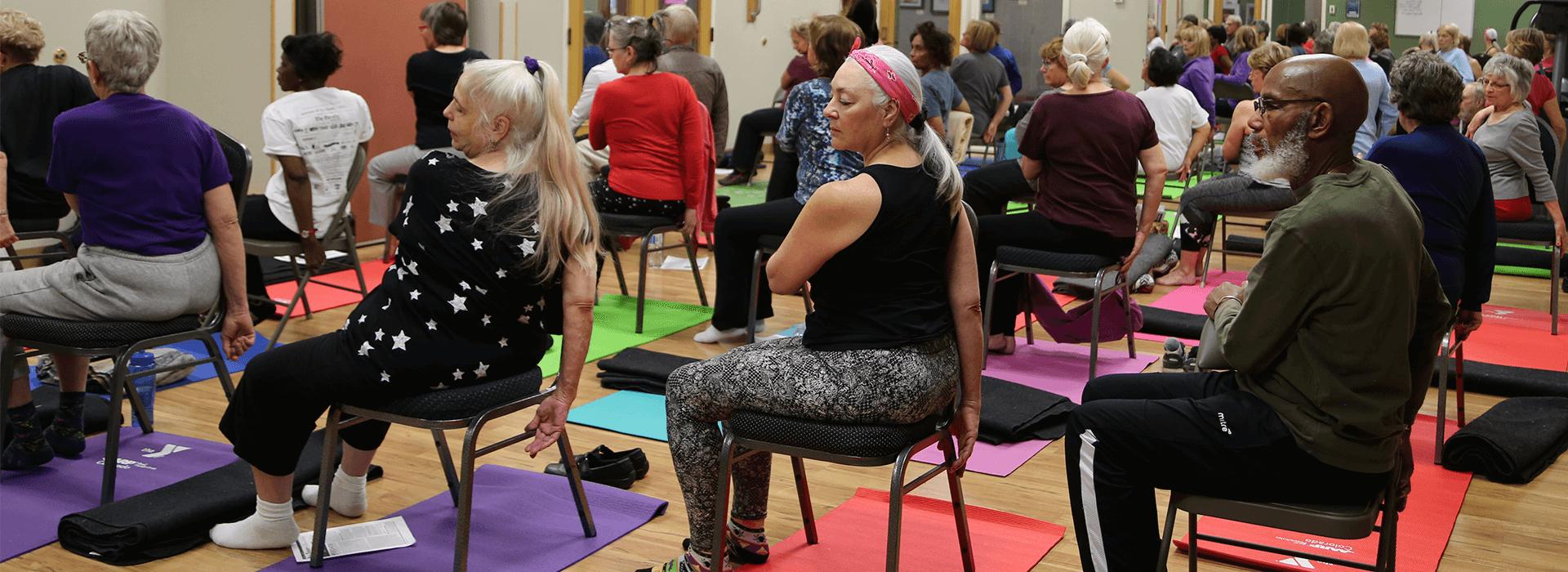 AARP Yoga Retreat