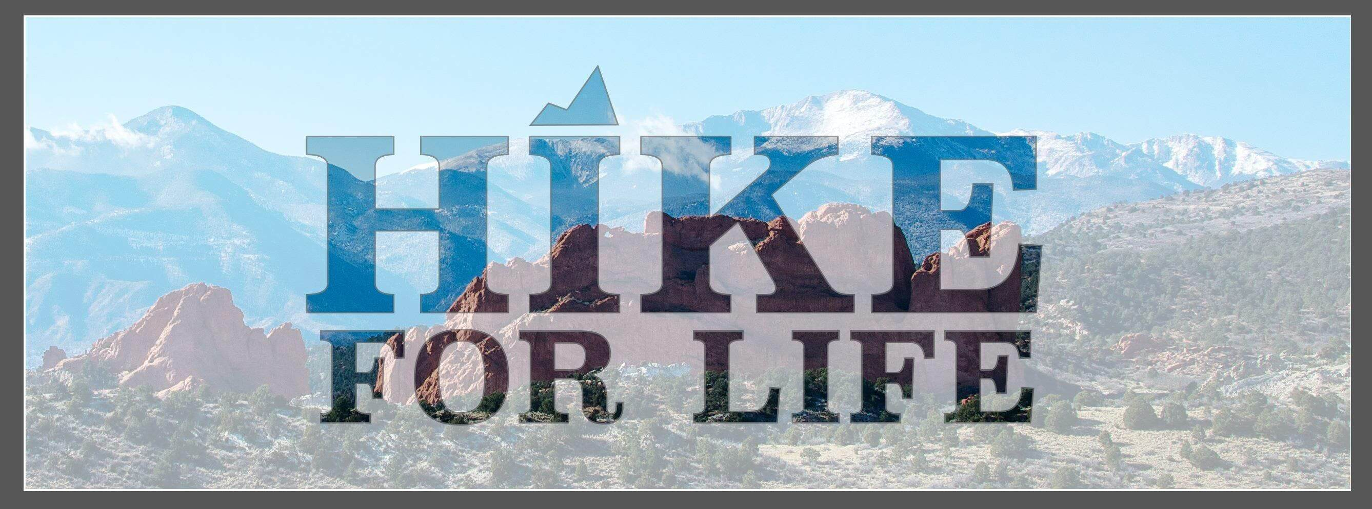 Hike for Life logo